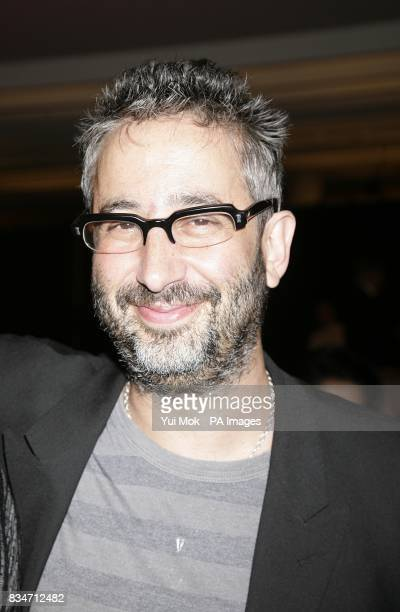 David Baddiel during the BBC Four Samuel Johnson Prize for NonFiction awards at the South Bank Centre London SE1