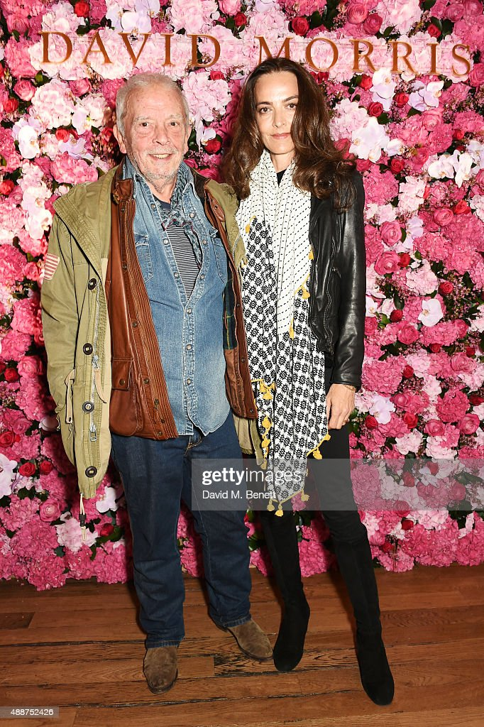 David Bailey and Catherine Bailey attend the David Morris Ai Weiwei exhibition gala preview at the Royal Academy of Arts on September 17 2015 in...