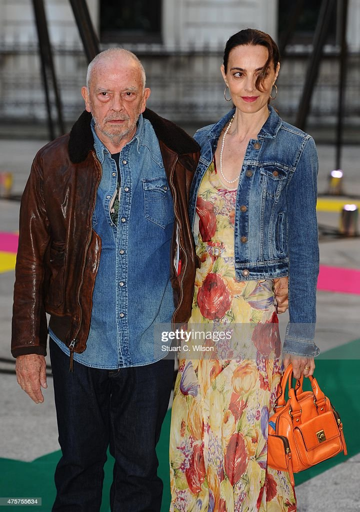 David Bailey and Catherine Bailey attend the Royal Academy of Arts Summer Exhibition on June 3 2015 in London England