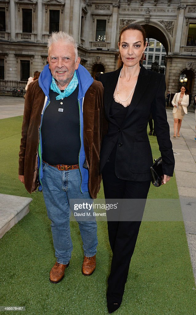 David Bailey and Catherine Bailey attend the Royal Academy Summer Exhibition preview party at the Royal Academy of Arts on June 4 2014 in London...