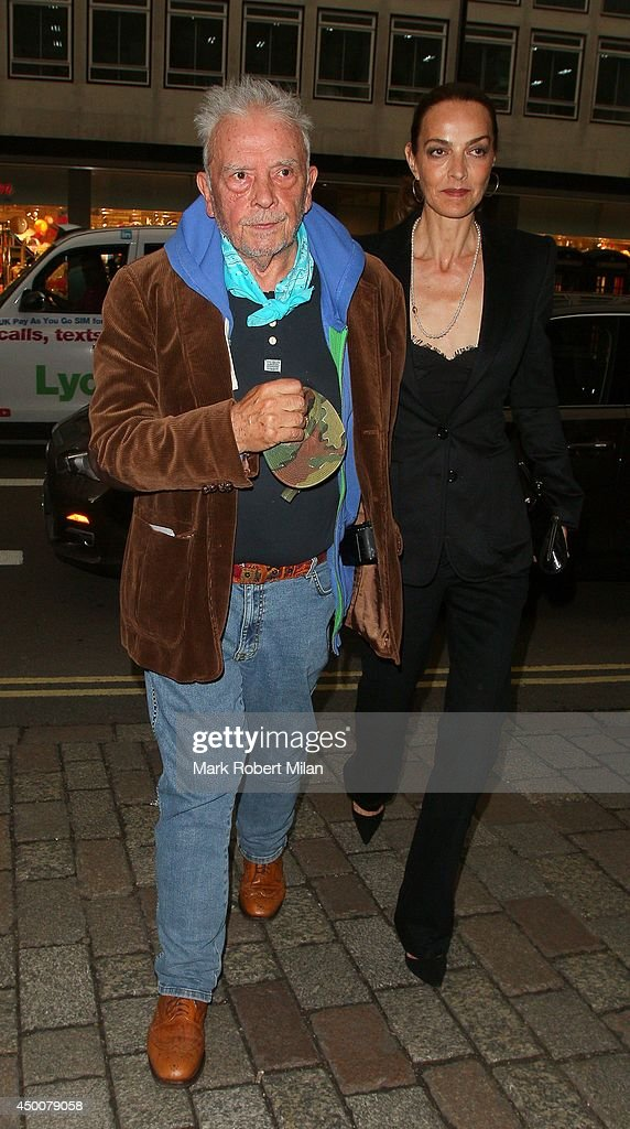 David Bailey and Catherine Bailey attending the Royal Academy Summer Exhibition Preview Party on June 4 2014 in London England
