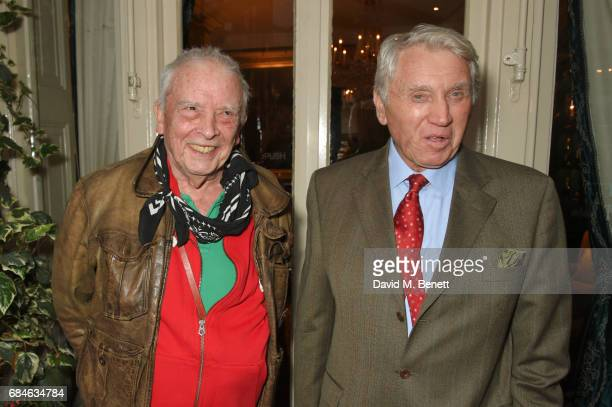 David Bailey and Don McCullin attend an event at MarkÕs Club hosted by Wallpaper* EditorinChief Tony Chambers in honour of Sir Don McCullinÕs recent...
