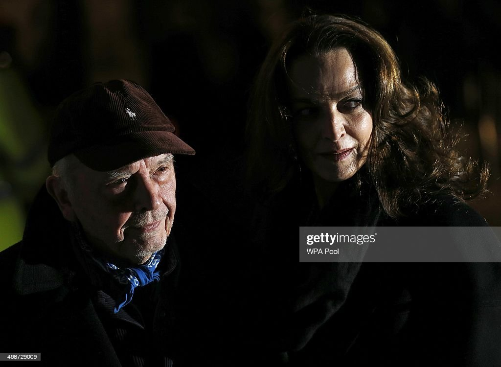 David Bailey and wife Catherine Bailey attend The Portrait Gala 2014: Collecting To Inspire at National Portrait Gallery on February 11, 2014 in London, England.