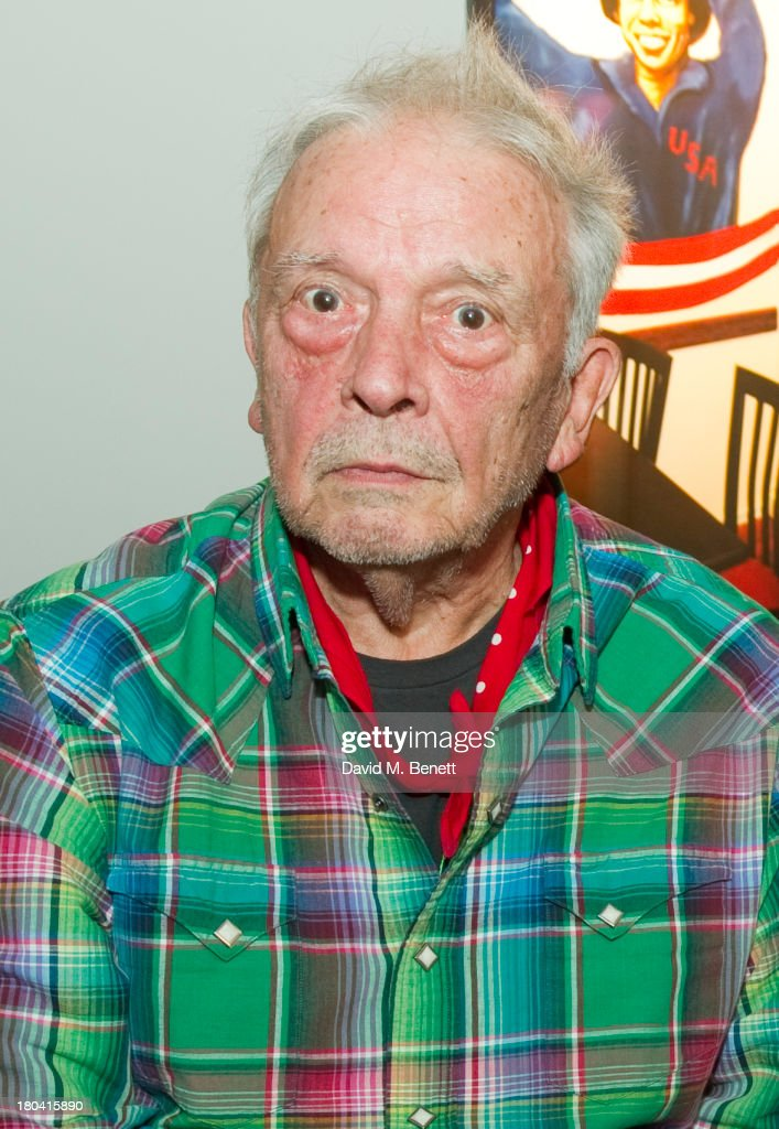 David Bailey attends the Bruce Weber x David Bailey by Nokia Lumia 1020 exhibition at the Nicholls Clarke Building on September 12 2013 in London...