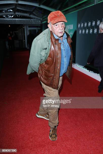 David Bailey attends the Thrill Gala UK Premiere of 'Blade Of The Immortal' during the 61st BFI London Film Festival on October 8 2017 in London...