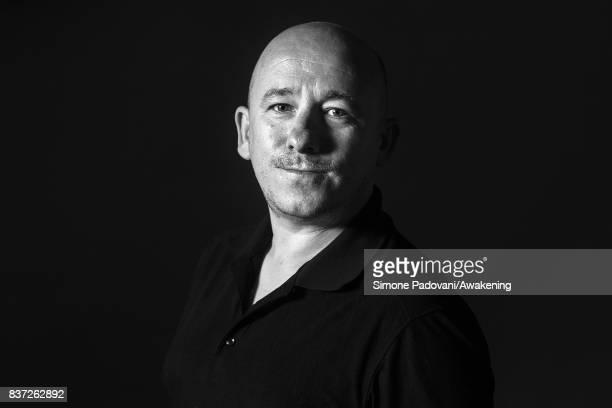 David Baillie attends a photocall during the Edinburgh International Book Festival on August 22 2017 in Edinburgh Scotland