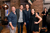 David Baker Alex Wisnioski Adrian Pollack and Kim Thilligs attend Tom Dixon Celebrates New Store with Howard Street Party at The Shop New York on...