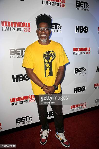 David Banner attends Muhammad Ali The People's Champ opening night film of the 2015 Urbanworld Film Festival at AMC Empire 25 theater on September 23...