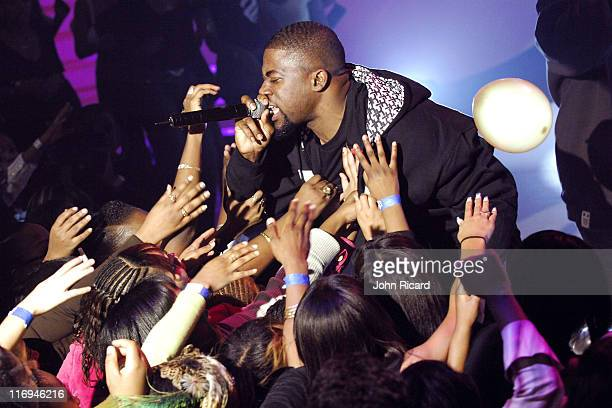 David Banner during BET's '106 Park' Taping for New Year's Eve Broadcast December 16 2005 at BET Studios in New York City New York United States