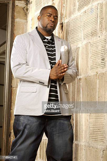 David Banner during David Banner Portrait Session May 13 2005 at Michelson Studio in New York New York United States