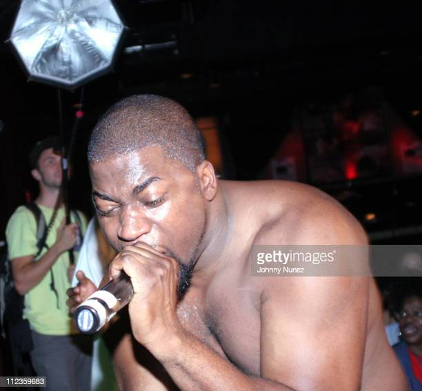 David Banner during Hurricane Katrina Hip Hop Benefit Concert at BB Kings September 19 2005 at BB Kings in New York City New York United States