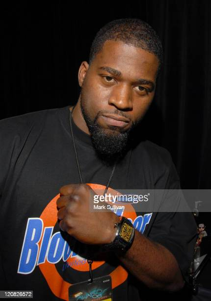David Banner in Backstage Creations 2006 BET Awards The Retreat