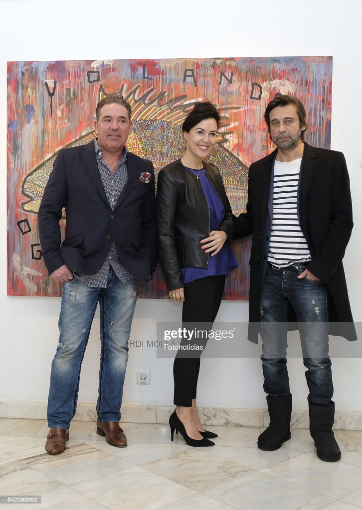 Jordi Molla Presents Art Exhibition in Madrid