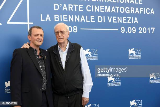 David Batty and Michael Caine attend the 'My Generation' photocall during the 74th Venice Film Festival on September 5 2017 in Venice Italy