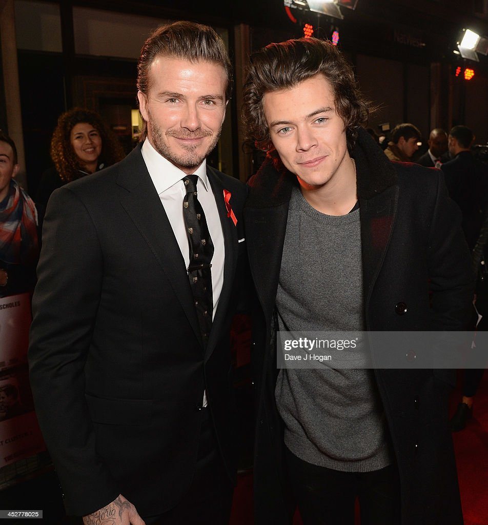 <a gi-track='captionPersonalityLinkClicked' href=/galleries/search?phrase=David+Beckham&family=editorial&specificpeople=158480 ng-click='$event.stopPropagation()'>David Beckham</a> and <a gi-track='captionPersonalityLinkClicked' href=/galleries/search?phrase=Harry+Styles&family=editorial&specificpeople=7229830 ng-click='$event.stopPropagation()'>Harry Styles</a> attend the World premiere of 'The Class of 92' at Odeon West End on December 1, 2013 in London, England.