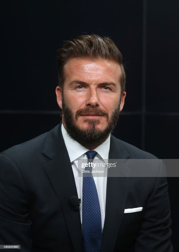 David Beckham and Prince William, Duke of Cambridge launch the 'United for Wildlife' Campaign at Google Town Hall on June 9, 2014 in London, England.