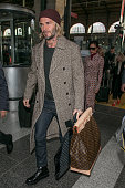 Victoria Beckham and David Beckham Sighting In Paris  -...