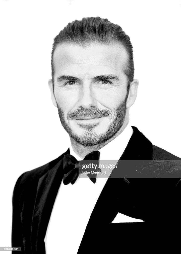 David Beckham arrives at the amfAR Gala Cannes 2017 at Hotel du Cap-Eden-Roc on May 25, 2017 in Cap d'Antibes, France.