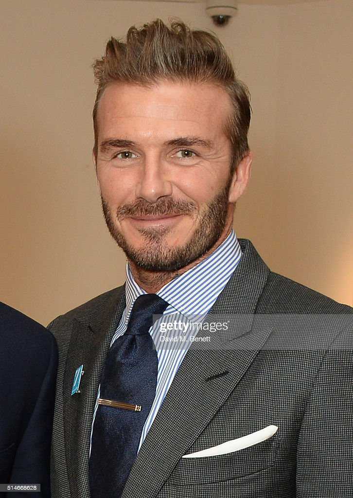 <a gi-track='captionPersonalityLinkClicked' href=/galleries/search?phrase=David+Beckham&family=editorial&specificpeople=158480 ng-click='$event.stopPropagation()'>David Beckham</a> attends a charity auction of '<a gi-track='captionPersonalityLinkClicked' href=/galleries/search?phrase=David+Beckham&family=editorial&specificpeople=158480 ng-click='$event.stopPropagation()'>David Beckham</a>: The Man' hosted by Phillips at their European Headquarters and catered by Sexy Fish on March 10, 2016 in London, England. The auction is in support of '7: The <a gi-track='captionPersonalityLinkClicked' href=/galleries/search?phrase=David+Beckham&family=editorial&specificpeople=158480 ng-click='$event.stopPropagation()'>David Beckham</a> UNICEF Fund' and UK charity 'Positive View Foundation'.