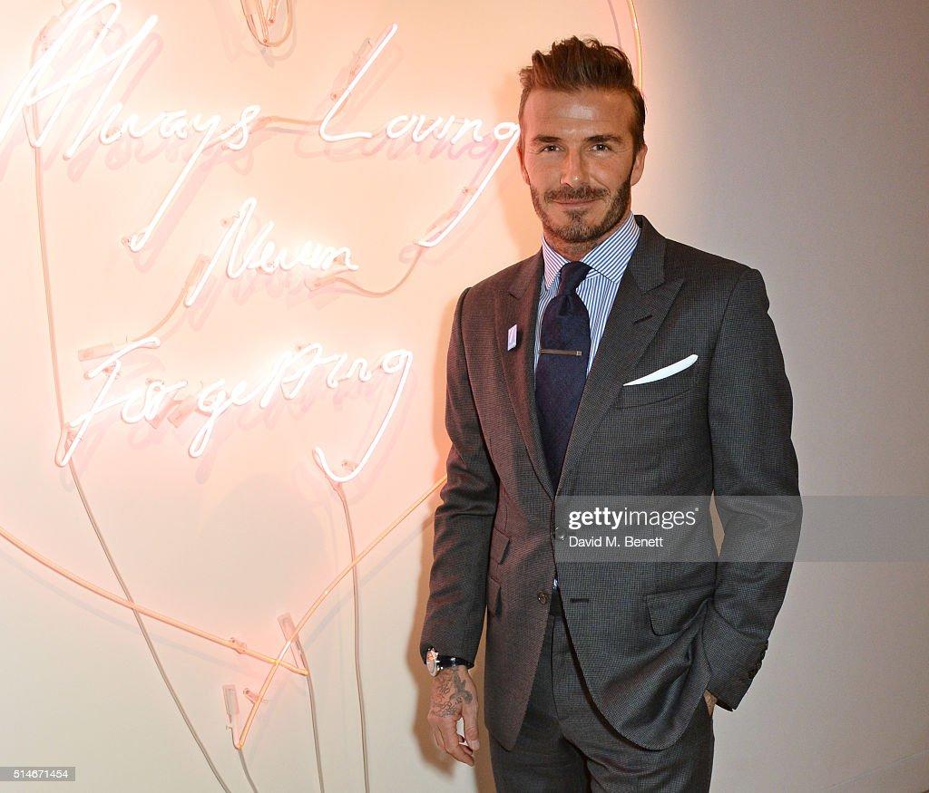 'David Beckham: The Man' Gala Auction