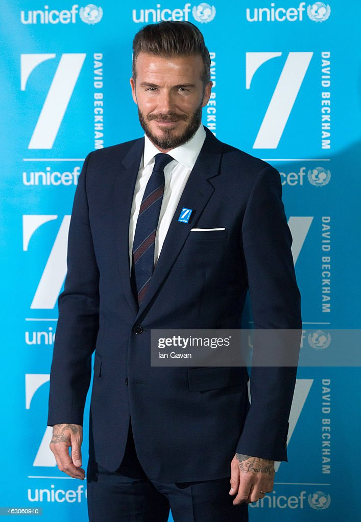 <a gi-track='captionPersonalityLinkClicked' href=/galleries/search?phrase=David+Beckham&family=editorial&specificpeople=158480 ng-click='$event.stopPropagation()'>David Beckham</a> attends a photocall as he celebrates 10 years as a UNICEF goodwill ambassador at Google HQ on February 9, 2015 in London, England.