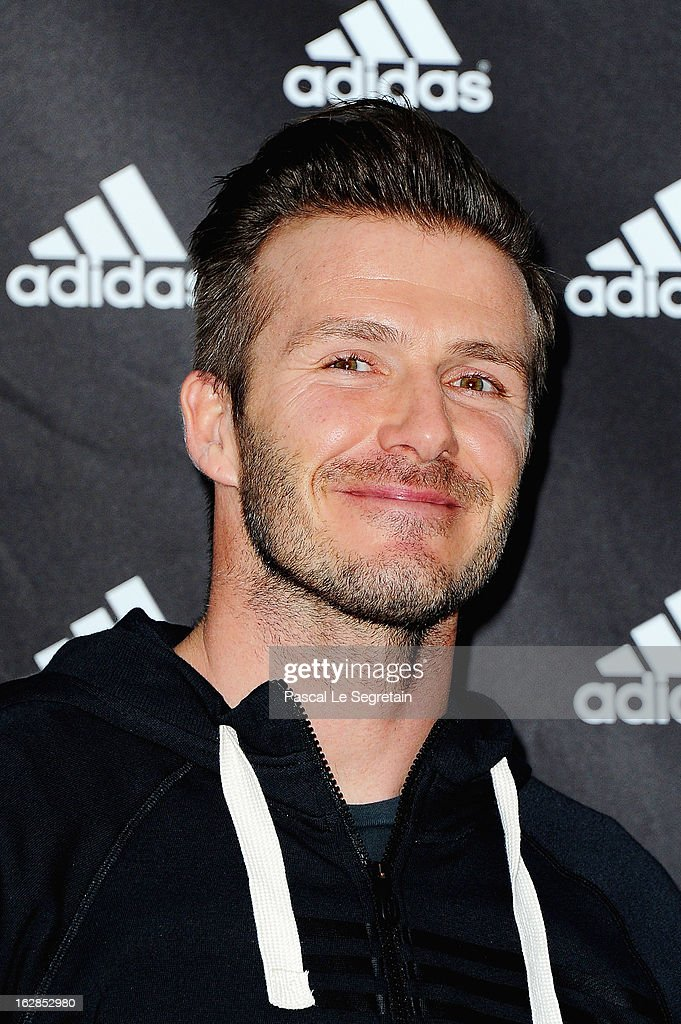 <a gi-track='captionPersonalityLinkClicked' href=/galleries/search?phrase=David+Beckham&family=editorial&specificpeople=158480 ng-click='$event.stopPropagation()'>David Beckham</a> attends an autograph session at adidas Performance Store Champs-Elysees on February 28, 2013 in Paris, France.