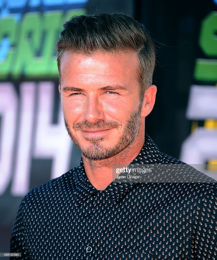 David Beckham attends the 2014 Nickelodeon Kids' Choice Sports Awards at Pauley Pavilion on July 17, 2014 in Los Angeles, California.