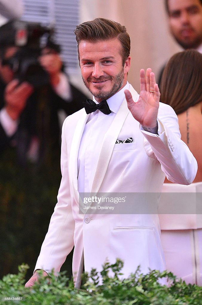<a gi-track='captionPersonalityLinkClicked' href=/galleries/search?phrase=David+Beckham&family=editorial&specificpeople=158480 ng-click='$event.stopPropagation()'>David Beckham</a> attends the 'Charles James: Beyond Fashion' Costume Institute Gala at the Metropolitan Museum of Art on May 5, 2014 in New York City.