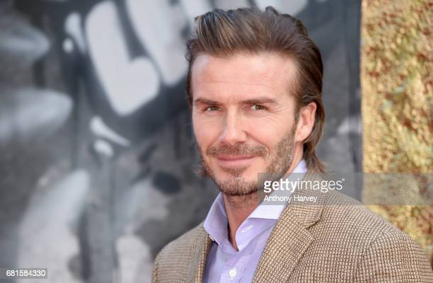 David Beckham attends the 'King Arthur Legend of the Sword' European premiere at Cineworld Empire on May 10 2017 in London United Kingdom