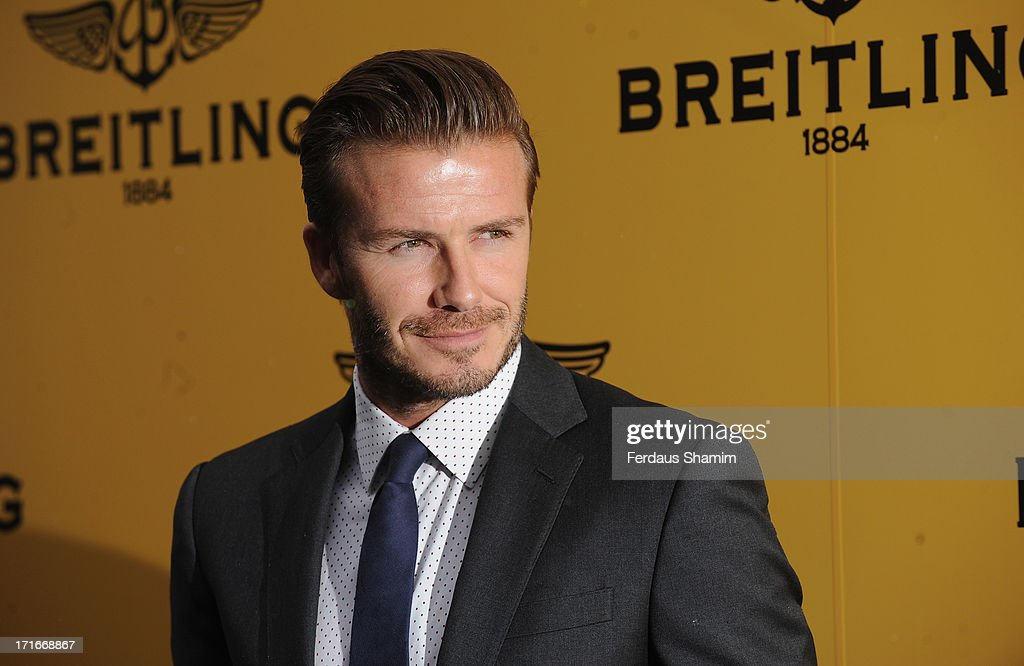 <a gi-track='captionPersonalityLinkClicked' href=/galleries/search?phrase=David+Beckham&family=editorial&specificpeople=158480 ng-click='$event.stopPropagation()'>David Beckham</a> attends the launch of the new Breitling Flagship Boutique on New Bond Street at Breitling Boutique on June 27, 2013 in London, England.