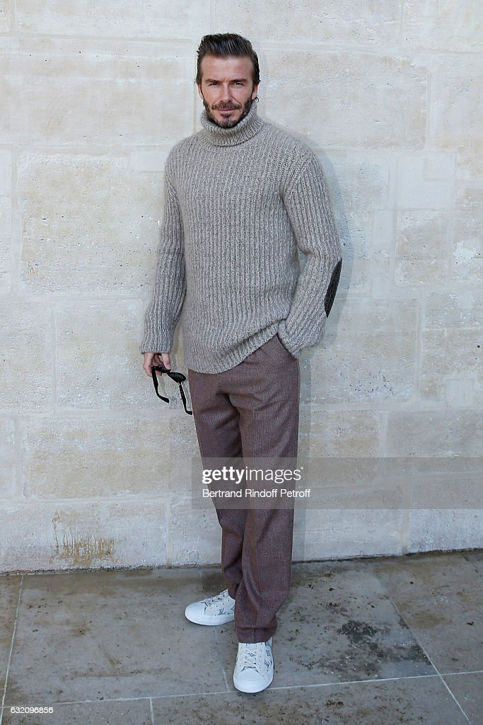 Louis Vuitton: Outside Arrivals - Paris Fashion Week - Menswear F/W 2017-2018