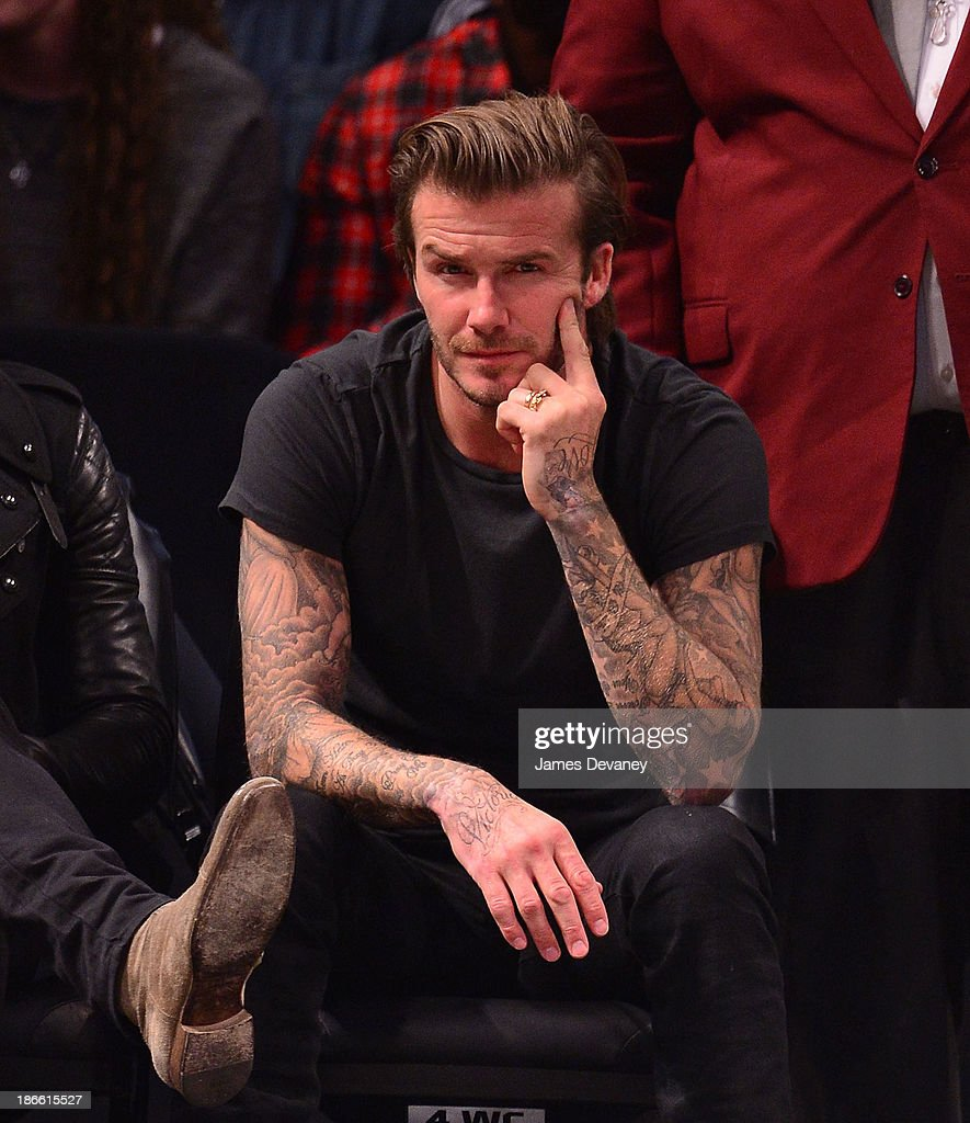 <a gi-track='captionPersonalityLinkClicked' href=/galleries/search?phrase=David+Beckham&family=editorial&specificpeople=158480 ng-click='$event.stopPropagation()'>David Beckham</a> attends the Miami Heat vs Brooklyn Nets game at Barclays Center on November 1, 2013 in the Brooklyn borough of New York City.