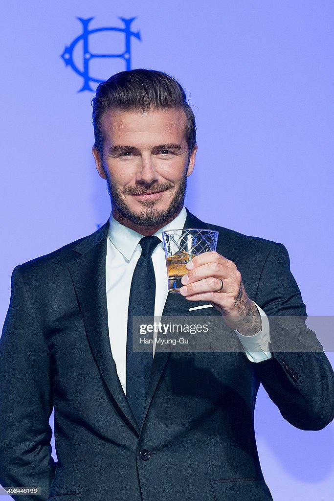 <a gi-track='captionPersonalityLinkClicked' href=/galleries/search?phrase=David+Beckham&family=editorial&specificpeople=158480 ng-click='$event.stopPropagation()'>David Beckham</a> attends the press conference for Diageo Korea 'Haig Club' at Grand Hyatt Hotel on November 5, 2014 in Seoul, South Korea.