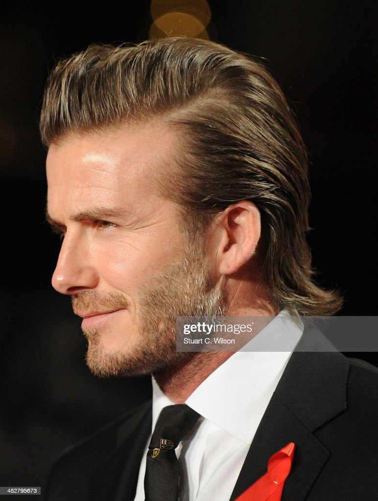 David Beckham attends the world premiere of 'The Class of 92' at Odeon West End on December 1, 2013 in London, England.
