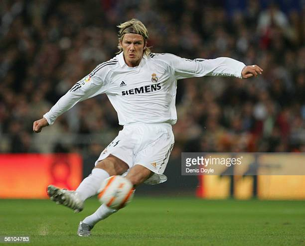 David Beckham Real Madrid Stock Photos and Pictures ...