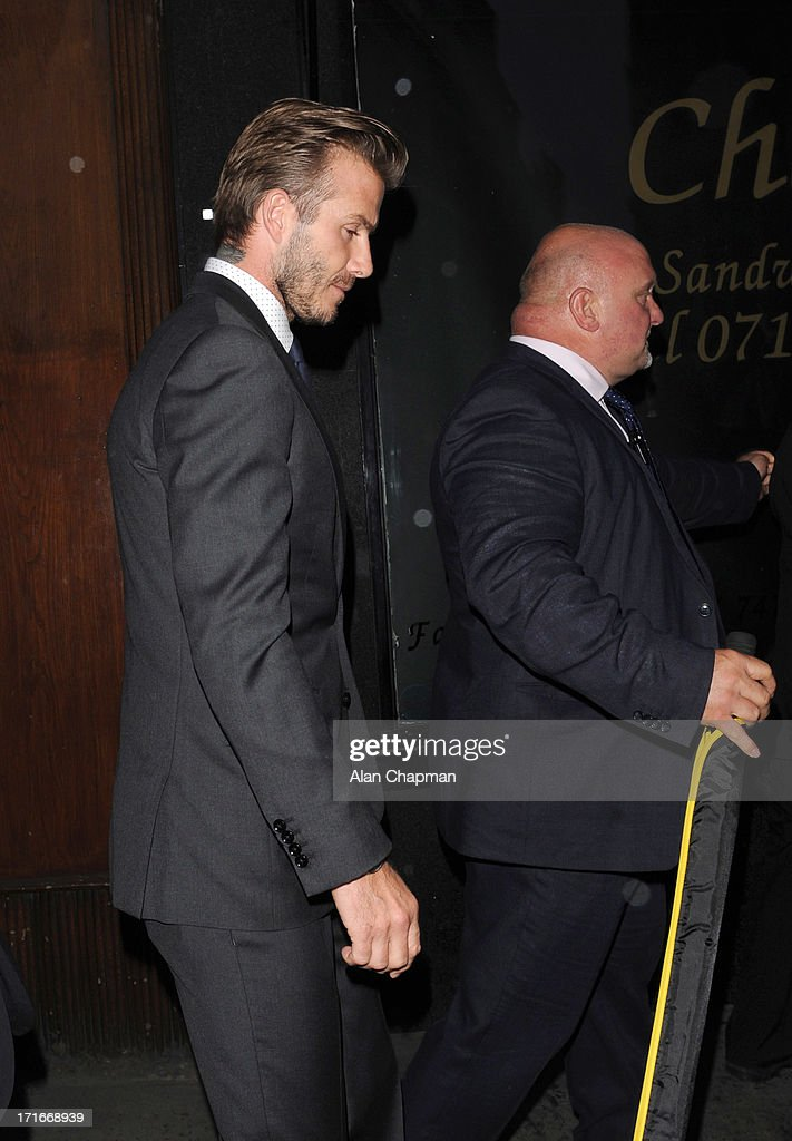 <a gi-track='captionPersonalityLinkClicked' href=/galleries/search?phrase=David+Beckham&family=editorial&specificpeople=158480 ng-click='$event.stopPropagation()'>David Beckham</a> sighting at the Breitling Flagship Store opening on June 27, 2013 in London, England.