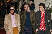 Victoria Beckham and David Beckham Sighting In Paris  -...