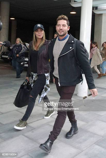 David Bisbal and Rosanna Zanetti are seen on October 29 2016 in Madrid Spain