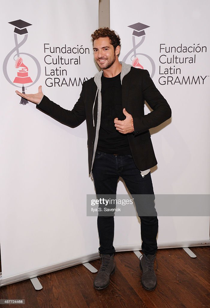 Latin GRAMMY In The Schools In The Celia Cruz Bronx High School Of Music With David Bisbal