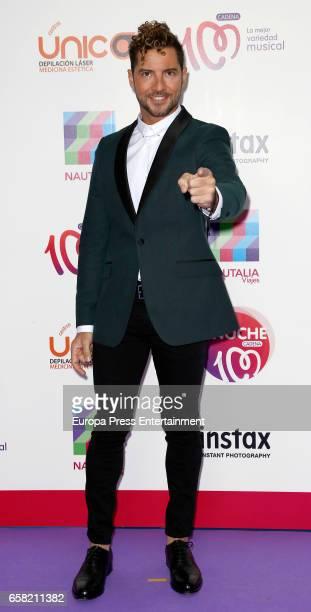 David Bisbal attends 'La Noche de Cadena 100' at the Palacio de los Deportes on March 25 2017 in Madrid Spain
