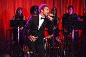 David Bisbal attends Latin Songwriters Hall Of Fame La Musa Awards at Ritz Carlton South Beach on October 18 2014 in Miami Beach Florida