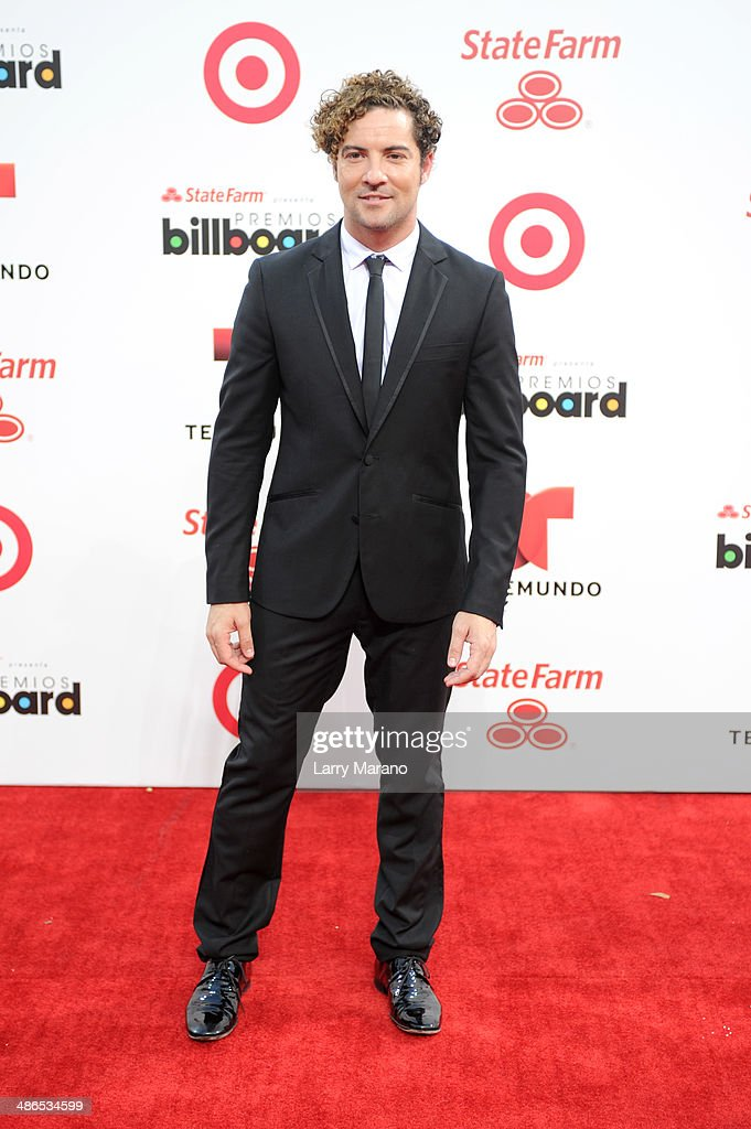 <a gi-track='captionPersonalityLinkClicked' href=/galleries/search?phrase=David+Bisbal&family=editorial&specificpeople=206469 ng-click='$event.stopPropagation()'>David Bisbal</a> attends the 2014 Billboard Latin Music Awards at Bank United Center on April 24, 2014 in Miami, Florida.