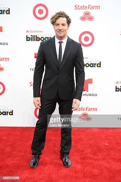 David Bisbal attends the 2014 Billboard Latin Music Awards at Bank United Center on April 24 2014 in Miami Florida