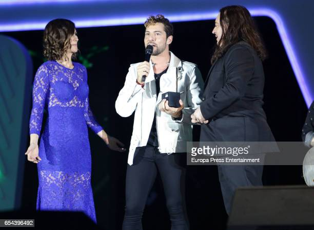 David Bisbal attends the 'Cadena Dial' awards gala on March 16 2017 in Tenerife Spain
