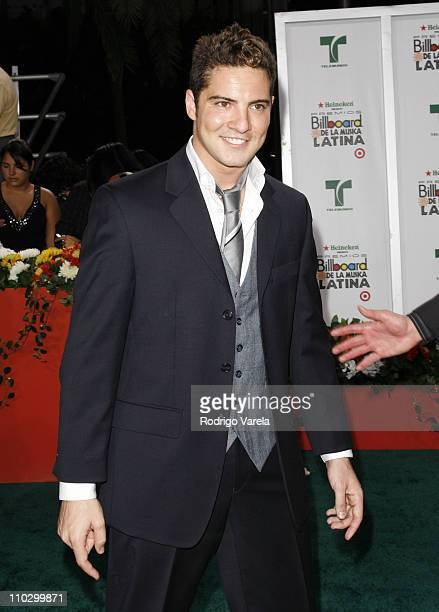 David Bisbal during Billboard Latin Music Conference and Awards 2007 Arrivals at Bank United Center in Coral Gables Florida United States