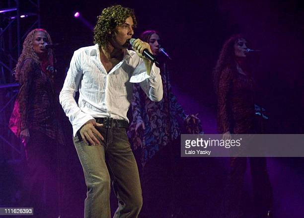 David Bisbal during David Bisbal in Concert at the Palau Sant Jordi at Palau Sant Jordi in Barcelona Spain
