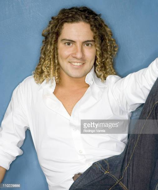 David Bisbal during David Bisbal Portrait Session at Universal Music Office in Miami Beach Florida United States