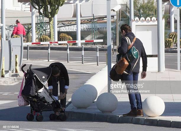 David Bisbal 'La China' Suarez and her daughter Rufina Cabre are seen on December 18 2014 in Almeria Spain