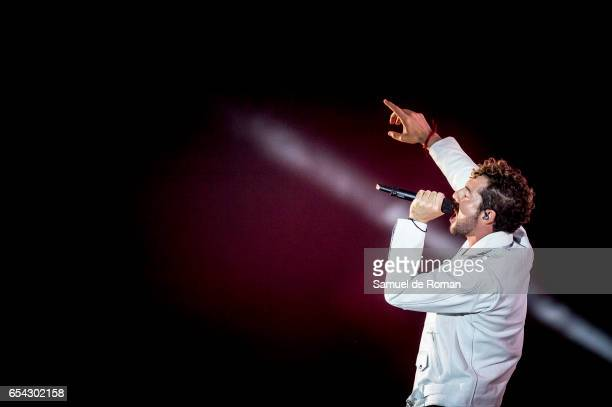 David Bisbal performs during Cadena Dial Awards on March 16 2017 in Tenerife Spain