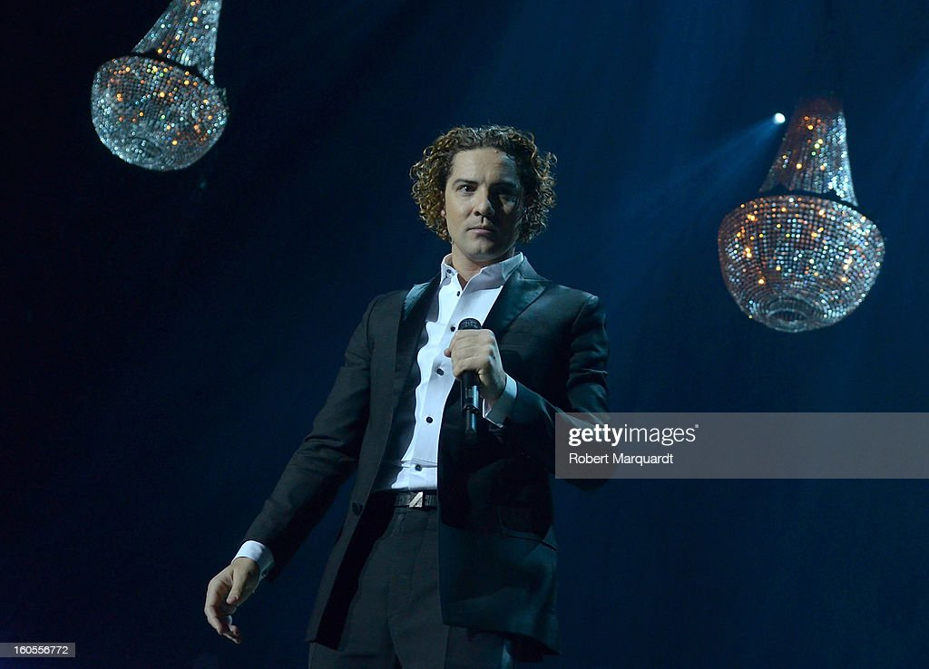<a gi-track='captionPersonalityLinkClicked' href=/galleries/search?phrase=David+Bisbal&family=editorial&specificpeople=206469 ng-click='$event.stopPropagation()'>David Bisbal</a> performs on stage at the Palau Sant Jordi on February 2, 2013 in Barcelona, Spain.